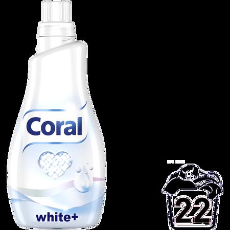 Coral Flüssigwaschmittel white+