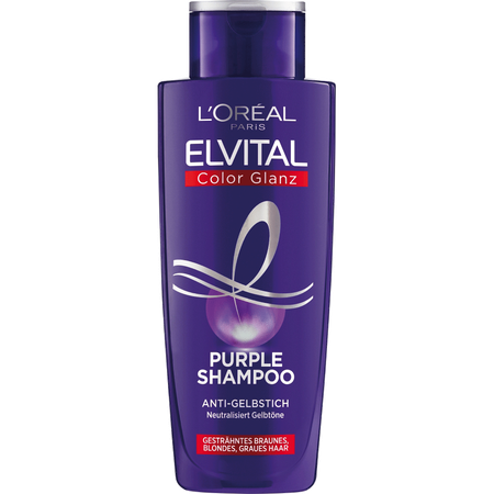 L'ORÉAL PARIS ELVITAL Color Glanz Purple Shampoo Anti Gelbstich