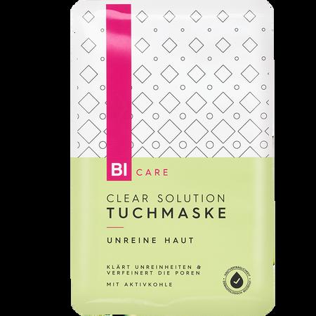 BI CARE Clear Solution Tuchmaske