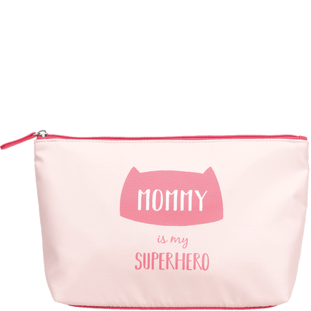 LOOK BY BIPA Kosmetiktasche 'Mommy is my Superhero'
