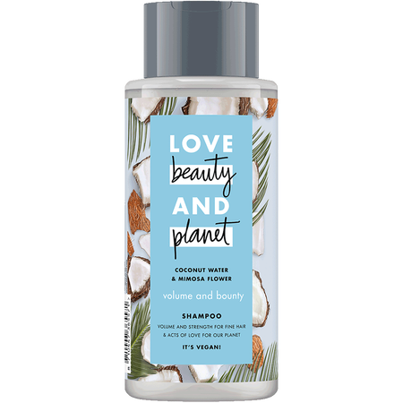 Love Beauty &  Planet Volume & Bounty Shampoo Coconut Water & Mimosa Flower