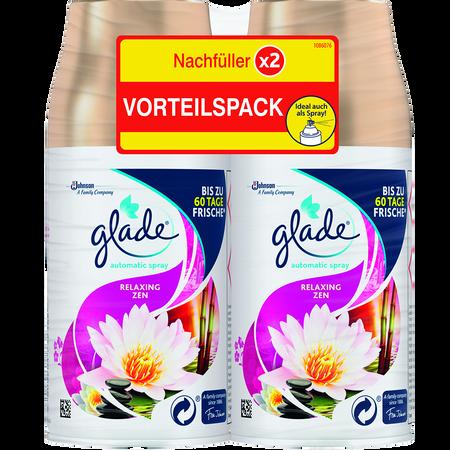 Glade Automatic Spray Nachfüller Relaxing Zen Doppelpack