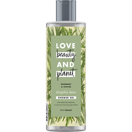 Love Beauty &  Planet Shower Gel Rosemary & Vetiver