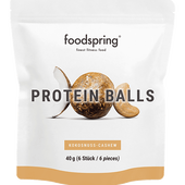 Bild: foodspring Protein Balls Kokosnuss