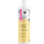 Bild: BI CARE Exotic Delight Cremedusche Kokoswasser & Frangipaniblüte