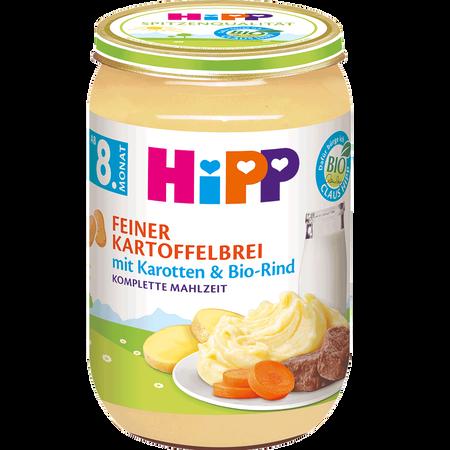 HiPP Feiner Kartoffelbrei mit Karotten & Bio-Rind