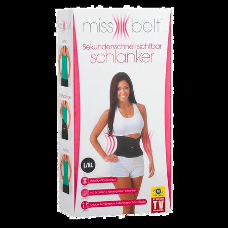 MediaShop Miss Belt Schwarz L-XL
