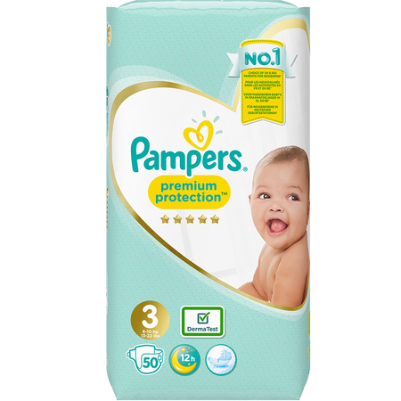 Pampers Premium Protection Premium Protection Gr. 3 (6-10kg) Value Pack
