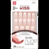 Bild: KISS Salon Acrylic Nude Nails - Graceful