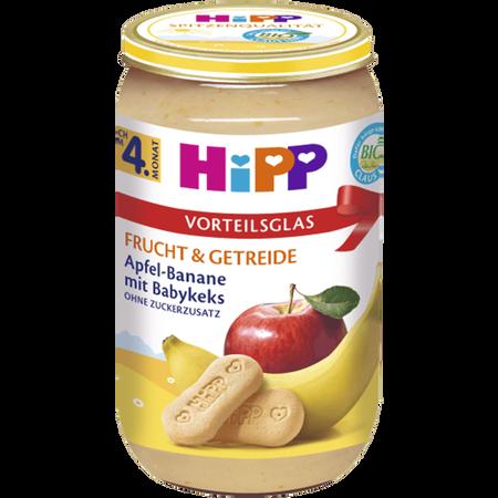 HiPP Apfel-Banane mit Babykeks