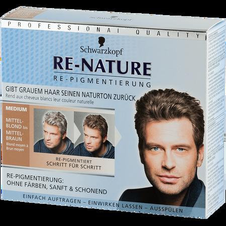 Schwarzkopf RE-NATURE Re-Pigmentierung for Men