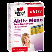 Bild: DOPPELHERZ Aktiv-Meno Soja Isoflavone + Calcium+D3