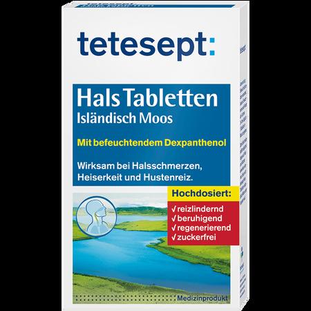 tetesept: Hals Tabletten Isländisch Moos