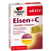Bild: DOPPELHERZ Eisen + C Tabletten