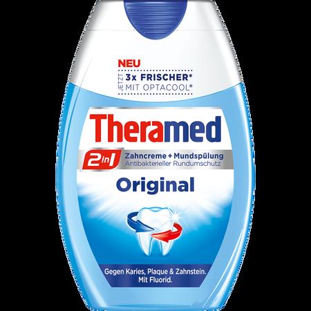 Theramed 2in1 Zahncreme + Mundspülung Original