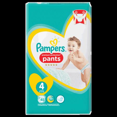 Pampers Premium Protection Pants Gr. 4 (9-15kg) Jumbo Pack
