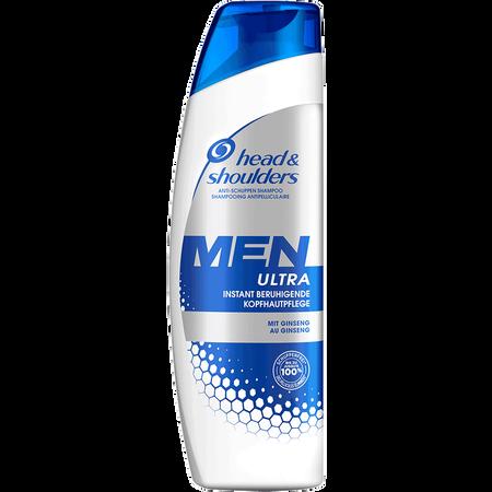 head & shoulders Men Ultra Anti-Schuppen Shampoo Instant beruhigende Kopfhautpflege