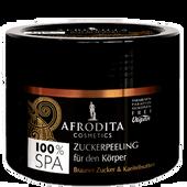 Bild: AFRODITA Cosmetics Zuckerpeeling Brauner Zucker & Karitébutter