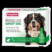 Bild: beaphar Zecken- & Flohschutz SPOT ON für große Hunde