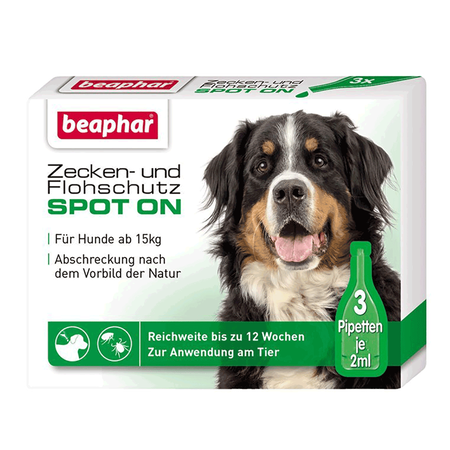 beaphar Zecken- & Flohschutz SPOT ON für große Hunde