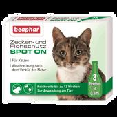 Bild: beaphar Zecken- & Flohschutz SPOT ON für Katzen