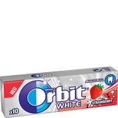 Bild: Orbit White Strawberry Kaugummi