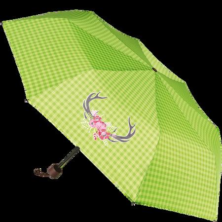 derby Minischirm mit Hirsch grün