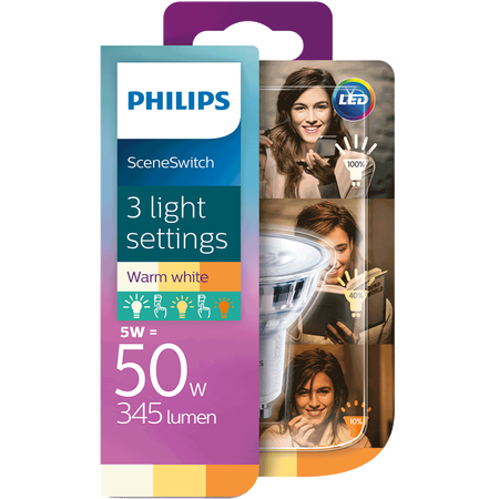 PHILIPS SceneSwitch LED Lampe 50W