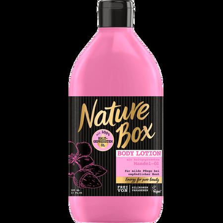 Nature Box Body Lotion Mandel-Öl