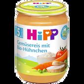 Bild: HiPP Gemüsereis mit Bio-Hühnchen