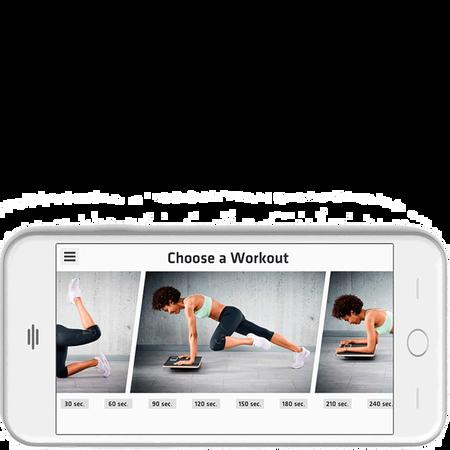 Plankpad - interaktiver Ganzkörper Trainer