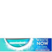 Bild: mentadent White Now Ice Cool Zahncreme