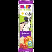 Bild: HiPP Früchte Freund Zebra Himbeere in Banane-Apfel