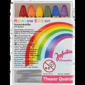Bild: Jofrika Rainbow Edition Schminkstifte mit Spitzer