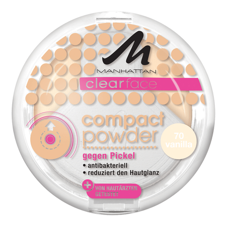 MANHATTAN Clearface Compact Powder