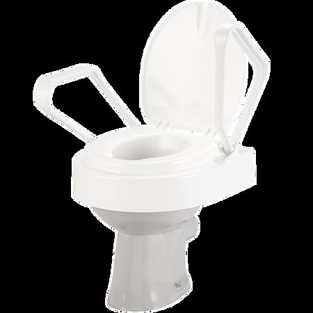 FRÜHWALD Toilettenstuhlerhöhung mit Armlehne
