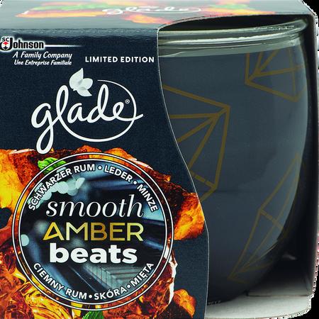 Glade Duftkerze Smooth Amber Beats