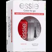 Bild: Essie Nagellack Set really red