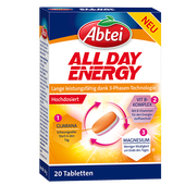 Bild: Abtei All Day Energy 3-Phasen Tabletten