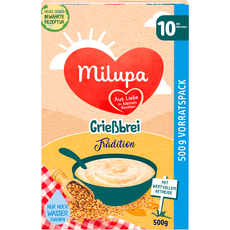 Milupa Grießbrei Tradition