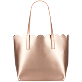Bild: LOOK BY BIPA Wellenshopper Tasche gold
