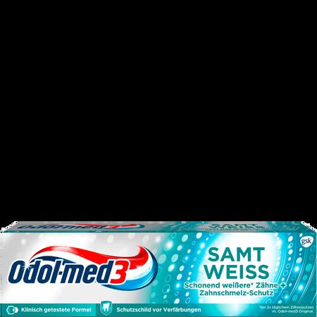 Odol-med3 Zahncreme Samt Weiss