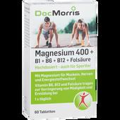 Bild: DocMorris Magnesium 400 + B1 + B6 + B12 + Folsäure Tabletten