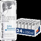 Bild: Red Bull Energy Drink White Edition Kokos-Blaubeere 24er Palette