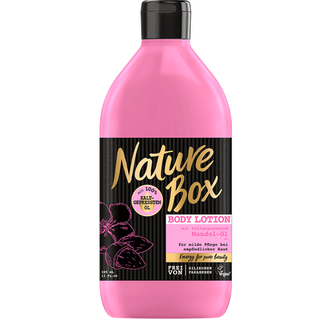 Nature Box Body Lotion Mandel-Öl