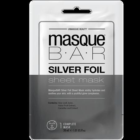masque BAR Silver Foil Sheet Mask