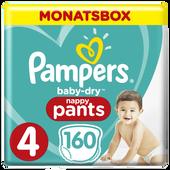 Bild: Pampers Baby Dry Pants Gr.4 Maxi 9-15kg MonatsBox