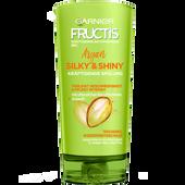 Bild: GARNIER FRUCTIS Silky & Shiny Argan kräftigende Haarspülung