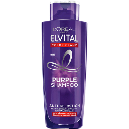 L'ORÉAL PARIS ELVITAL Color Glanz Purple Shampoo Anti Gelbstich