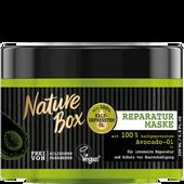 Bild: Nature Box Haarkur Reparatur Maske mit Avocado Öl
